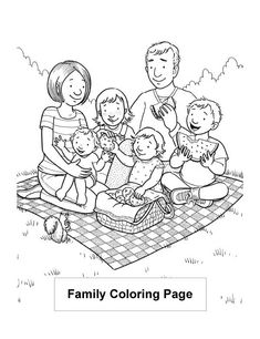 free lds clipart to color for primary children Lds Coloring Pages, People Coloring Pages, Family Coloring Pages, Coloring Pages To Print, Printable Coloring Pages, Coloring Pages For Kids, Coloring Books, Kids Coloring, Lds Pictures