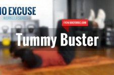 No Excuse: The Tummy Buster Workout - No Excuse: Workout Series | The Dr. Oz Show