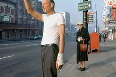 Shadows On Film: Fred Herzog - Faded + Blurred. Vintage Vancouver