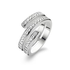 Ti Sento Zilveren Ring 1866ZI
