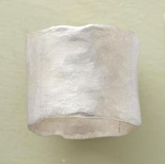 ORGANIC STERLING BAND -- Saundra Messinger's broad sterling silver band has a softened, irregular edge and a shimmering matte finish. Handmade in the USA. Whole and half sizes 5 to Because of the ring's width, we recommend ordering one size larger. Jewelry Shop, Jewelry Design, Unique Jewelry, Boho Jewellery, Fall Jewelry, Diamond Jewellery, Unique Rings, Beautiful Rings, Jewelry Bracelets