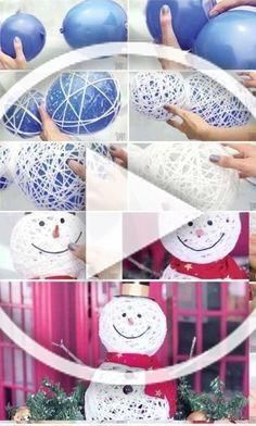 Be ready this coming Christmas and create these DIY decoration ideas! Diy Projects For Teens, Diy For Teens, Diy Crafts To Sell, Diy Crafts For Kids, Home Crafts, Easy Crafts, Diy Christmas Videos, Diy Christmas Gifts For Family, Christmas Crafts