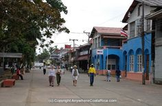 Avenida Central in Limon, Costa Rica. The town were my Dad was born n raised