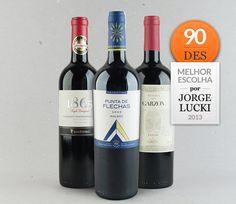 Melhores escolhas Jorge Lucki 2013 Novo Mundo: Chile, Argentina e Uruguai #vinho #jorgelucki #novomundo