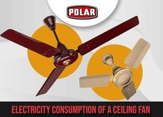 Ceiling Fans are one of the most important appliances in our houses. Know about the consumption of electricity by high-speed ceiling fans in this blog. Electricity Consumption, Ceiling Fans, High Speed, Appliances, Houses, Blog, Decor, Transitional Ceiling Fans, Gadgets