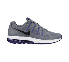 6e38ad995be4 New Nike Womens Air Max Dynasty Running Shoe GreyPurple 95     You can find