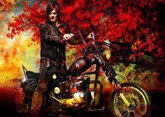 Daryl Dixon. Artist ~ Carrion Trilevel  DO NOT REMOVE TAG!!!!  This is one of my faves!!