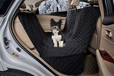 ZQ Waterproof Diamond Quilted Soft Hammock Seat Cover with Zipper Micro Fiber Bench Seat Cover for Dogs Black ** Be sure to check out this awesome product.