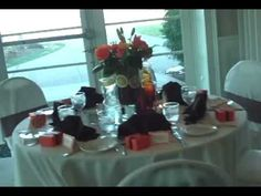 Http://www.UniquelyYouPlanning.com presents a orange and brown themed wedding. In this episode we look at some fun ideas for a wedding and other event centerpieces. For additional articles and videos go to http://www.UniquelyYouPlanning.com