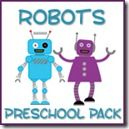 Robot Preschool Pack ~ Preschool Printables