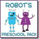 Robot Preschool Pack