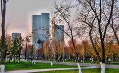 #KAZAKHSTAN #SWD #GREEN2STAY Open Air Cross-Fit, Yoga, Zumba at Astana's Central Park BY KAMILA ZHUMABAYEVA in ASTANA on 23 MAY 2016
