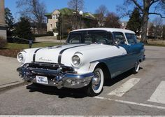 1956 Pontiac Safari..Re-pin...Brought to you by #CarInsurance at #HouseofInsurance in #Eugene, Oregon