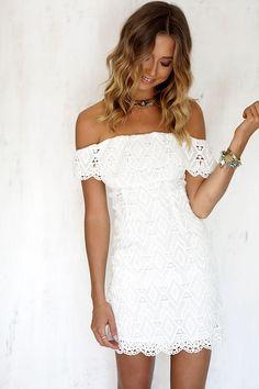 c34e63f9d DeRuiLaDy Sexy Women Mini Dress Off Shoulder Sexy Lace Embroidery Bodycon  Dresses Summer Beach Party White Casual Dress vestido