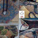 http://de.dawanda.com/shop/sonnenlicht Rucksäcke - Rucksack aus Möbelstoff 49 x 37 cm, gefüttert. - ein Designerstück von Silberbaum-und-Goldtau bei DaWanda
