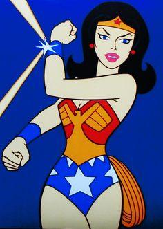 Imagem de BriBri Martinez #mulhermaravilha #dc #comics