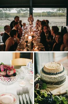 A cheese wedding cake? Love!