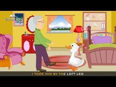 Goosey Goosey Gander Nursery Rhyme