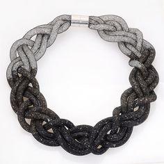 Erklärung Kristall Halsketten mit voller winzigen harz kristall halskette für frauen geschenke N14180