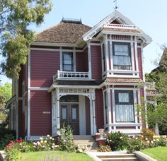 """The Innes House in the Angelino Heights neighborhood was home to Pru, Piper, Phoebe and Paige on the TV series """"Charmed"""""""