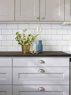 Köksinspiration - Grått kök i ask - Nordic