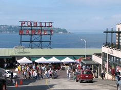 Seattle's Pikes Place Market on the Pier/Puget Sound... miss it!
