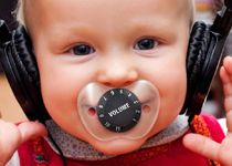 made me laugh - volume control on a pacifier  Fred & Friends » Products