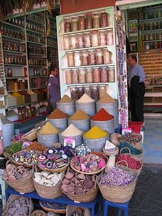Spice Market in a foreign country!!!!