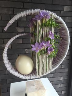 (61) Одноклассники Flower Arrangement Designs, Creative Flower Arrangements, Artificial Flower Arrangements, Floral Arrangements, How To Wrap Flowers, Diy Flowers, Paper Flowers, Arte Floral, Floral Wall