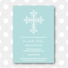 baptism invitation : printable baptism invitations - Free Invitation for You - Free Invitation for You