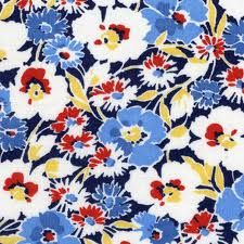 fabric for red/blue/yellow living room