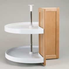 Bon Leave Doors Off Lazy Susan Corner Cabinet   Yahoo Image Search Results