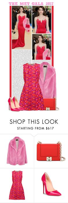 """""""#1590 (Emma Roberts)"""" by lauren1993 ❤ liked on Polyvore featuring Oris, J.Crew, Serapian, Dolce&Gabbana and Christian Louboutin"""