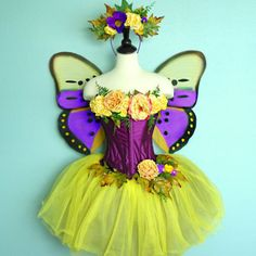 Fairy Costume  BUTTERFLY costume  adult fairy by FairyNanaLand, $385.00