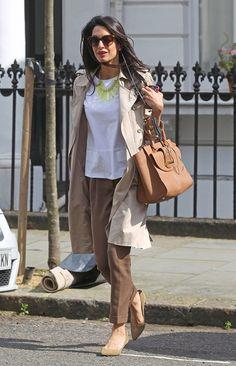 Office Look Por Amal Clooney