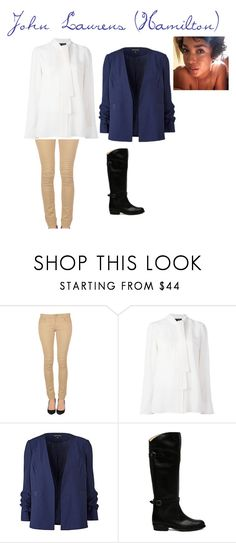 """""""Untitled #160 (Hamilton #4)"""" by lillybagilly ❤ liked on Polyvore featuring Twin-Set, Proenza Schouler and Frye"""