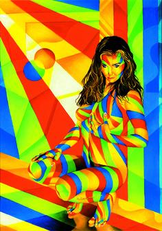 Moment of seduction #oiloncanvas #art