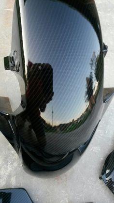 Honda cbr fender carbon fiber with tinted clear coat