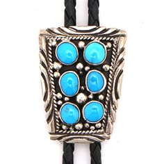 Turquoise 6 Stone Bolo at Maverick Western Wear