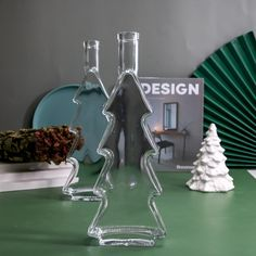 Tree Shapes, Glass Diffuser, Aromatherapy, Bottle, Flask, Jars