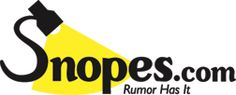 Newly designed Snopes website - Good resource to check out the authenticity of questionable stories found on the Internet