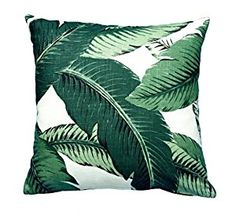 Amazon.com: AMArtStore Pillowcases Home office decoration, beautiful banana leaves 18x18(inches): Home & Kitchen