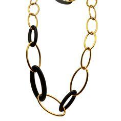 Χρυσό Κολιέ Κ18. Έβενος Gold Necklace, Bracelets, Jewelry, Gold Pendant Necklace, Jewlery, Jewerly, Schmuck, Jewels, Jewelery