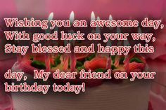 Birthday wishes for best friends