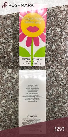 NWT Clinique Summer Exclusive Happy Summer Spray NWT! Offers welcome! Clinique Other