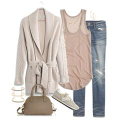 Untitled #3761 by shopwithm on Polyvore featuring Madewell, J.Crew and Argento Vivo