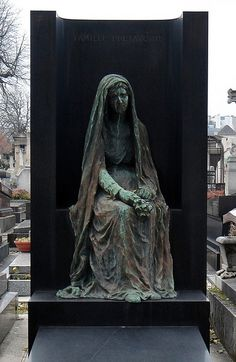 Montparnasse Cemetery   by Angels of Death, via Flickr