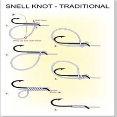 Fishing knots are created to be tied with either a mono or a coated or un-coated braided line and should have the ability to pass through fishing rod eyes and rings as well as a fishing rig. For that reason they need to be as small and as strong as possible. Learning a new knot takes patience...