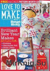 Love to make with Woman's Weekly - January 2016