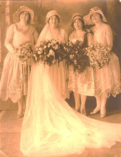 ALice (Audette) Sirois - and bride's maids http://www.pinterest.com/smpierce/thanks-for-the-memories/
